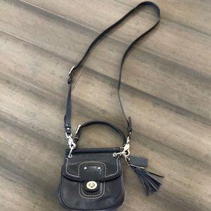 Mini Coach cross body purse